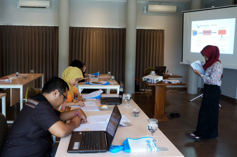Pelatihan Penyusunan Laporan Keuangan Berbasis Komputer - 8