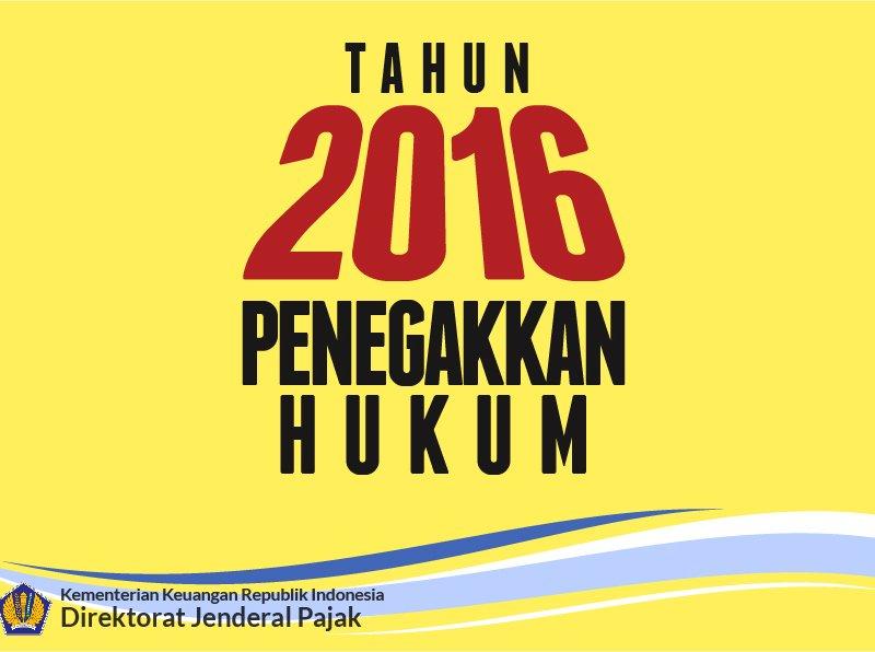 tahun 2016 pajak