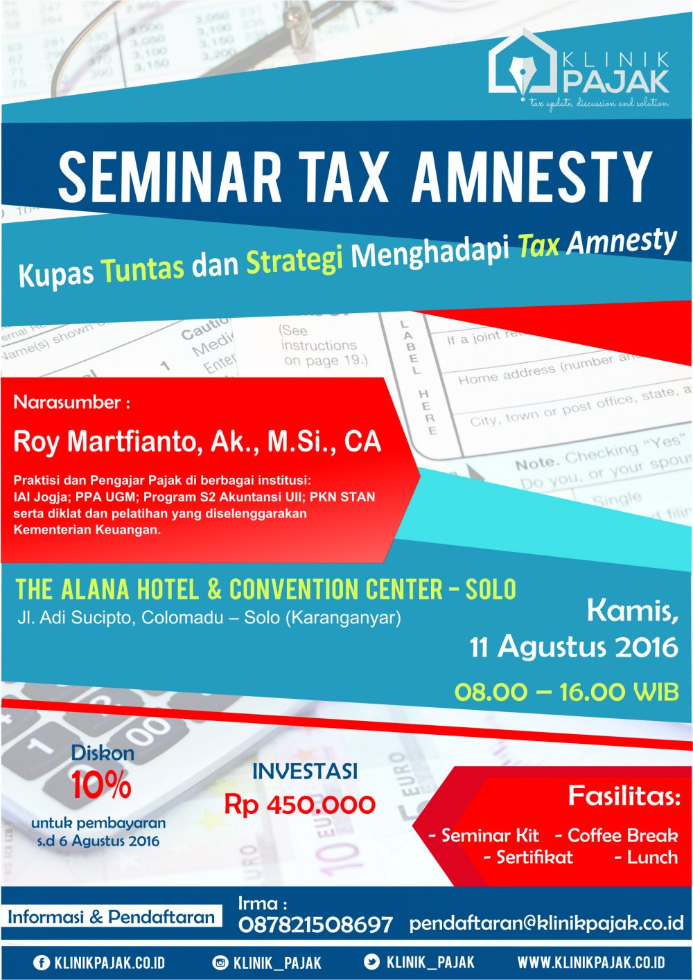 Seminar Tax Amnesty Solo