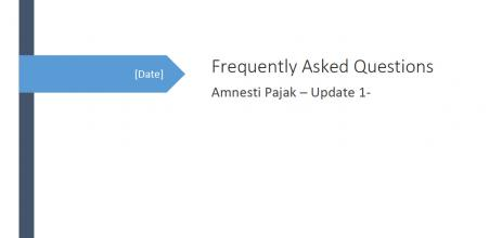 Frequenty Asked Question Pengampunan Pajak Update 1
